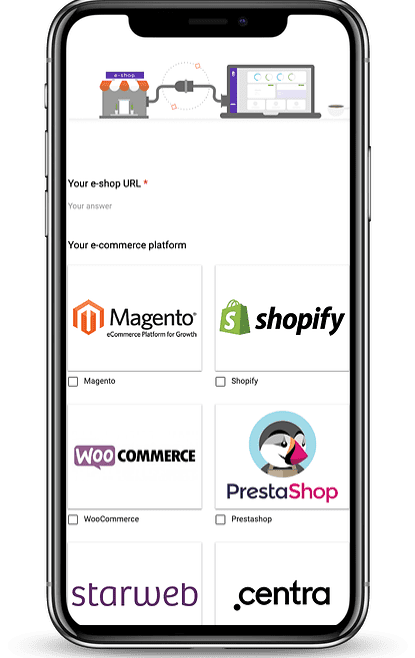 Easily find logistics for your eshop