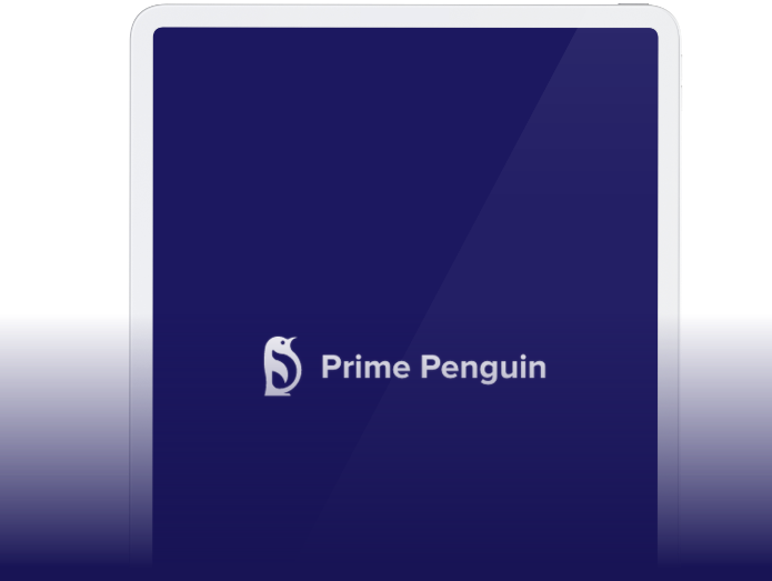 Prime Penguin on Frame